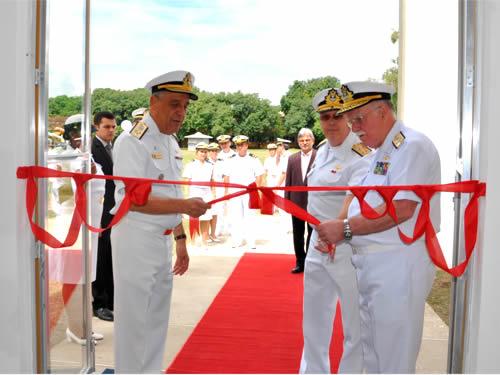 Centro de Instrução Almirante Alexandrino inaugura novo alojamento para os alunos