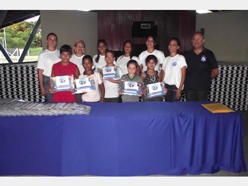 """""""Voluntárias Cisne Branco"""" – Seccional Manaus apoiam Projeto de Musicalização"""