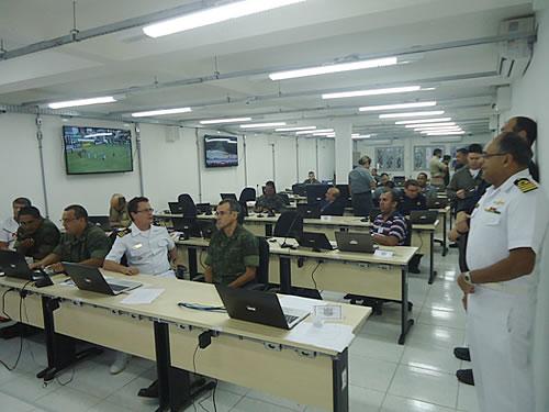 Forças Armadas utiliza jogo entre América e ABC para testar Sistemas de Defesa em Natal (RN)