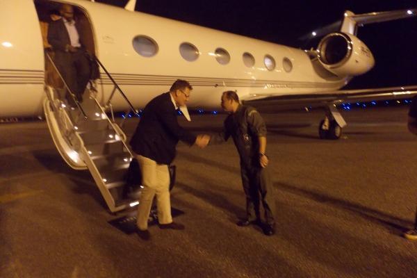 Base Aérea de Fortaleza recebe Secretário-geral da FIFA