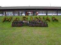 Instrutores e formandos da primeira turma do curso Expedito Operações Ribeirinhas
