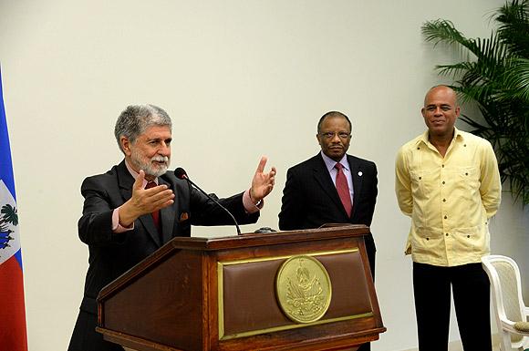 Brasil vai apoiar formação de Corpo de Engenharia Militar no Haiti