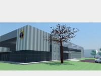 Projeto do novo Centro de Instrução e Adestramento Almirante Newton Braga
