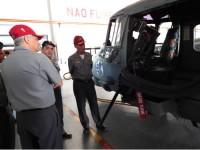 Autoridades visitam o Esquadrão HA-1