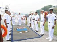 Cerimonial de recepção ao Chefe do Estado-Maior da Armada Argentina