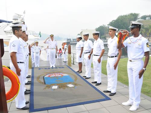 Comando-em-Chefe da Esquadra recebe visita do Chefe do Estado-Maior Geral da Armada Argentina