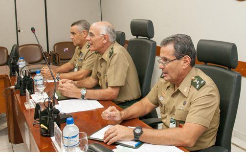 Estado-Maior do Exército realiza reunião de coordenação com os Órgãos de Direção Setorial