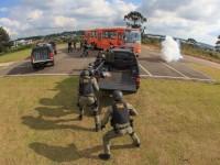 militares treinam resgate