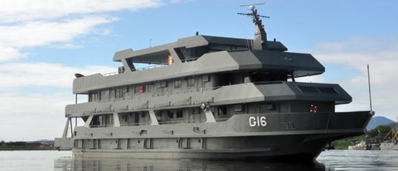 Marinha incorpora dois navios para ações na região do Pantanal