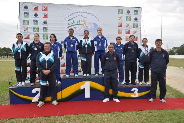 Sargentos da FAB são destaque em campeonato de orientação