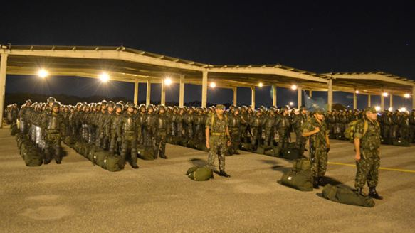 CCDA de Área de Fortaleza recebe visita do Comandante de Operações Terrestres