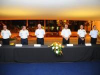 Comandante da Marinha e demais autoridades prestam homenagem aos artistas vencedores