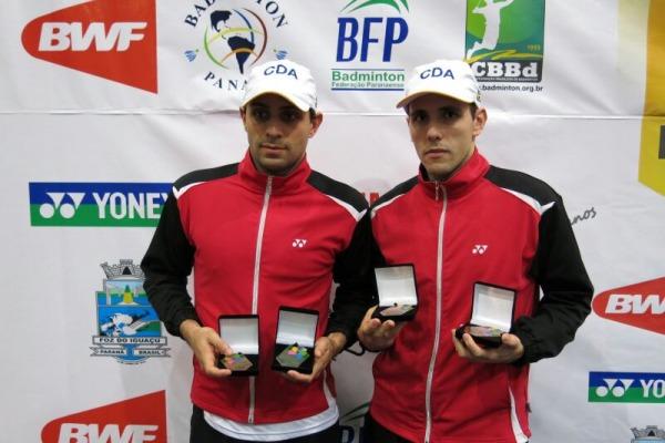 Militares da FAB conquistam Ouro, Prata e Bronze em torneio de Badminton