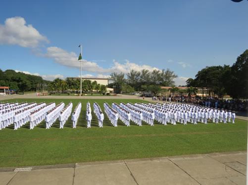 CIASC realiza formatura dos novos Sargentos do Corpo de Fuzileiros Navais