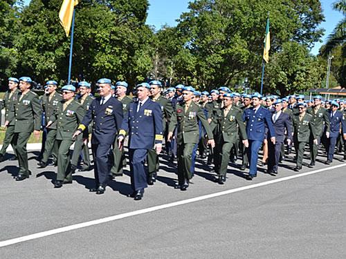 Dia Internacional dos Peacekeepers é comemorado na Base Aérea de Brasília
