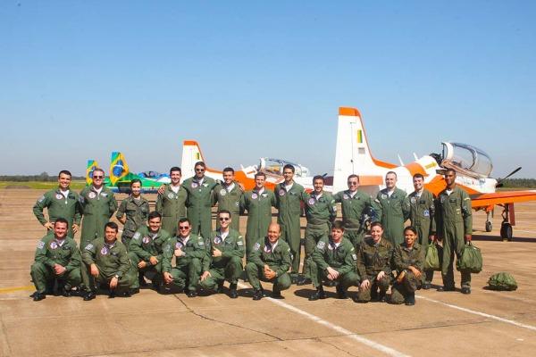 Equipes do EDA e da AFA com novos pilotos Ten Cocate/EDA