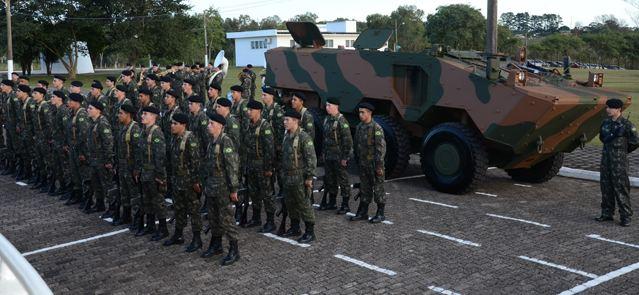 Nova geração de blindados é testada pelo 6º Esquadrão de Cavalaria Mecanizado