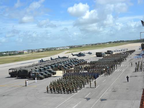 Forças Armadas e Segurança Pública apresentam aparato em Natal
