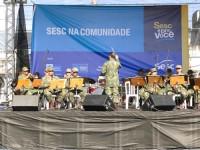Apresentação da Banda da Banda de Música do Comando da Força de Fuzileiros da Esquadra