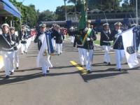 Desfile de militares do Comando do 7º Distrito Naval