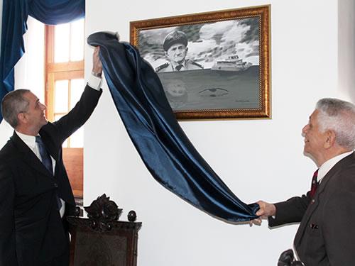Serviço de Seleção do Pessoal da Marinha inaugura Salão Nobre em homenagem ao Patrão-Mor Aguiar