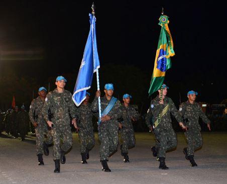 Cerimônia de passagem de Comando do Contingente Brasileiro no Haiti