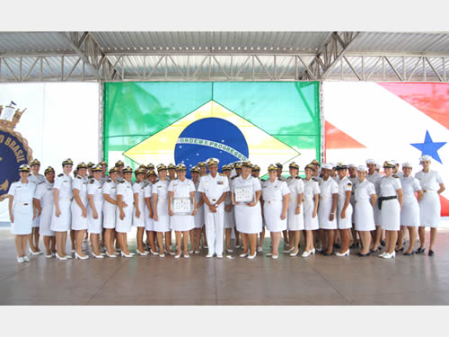 Comando do 4º Distrito Naval comemora os 34 anos do Ingresso da Mulher nas fileiras da Marinha do Brasil