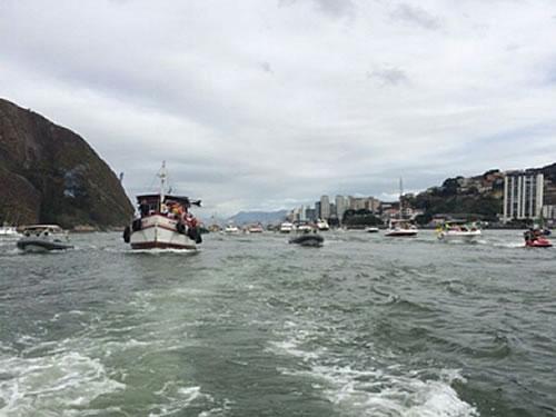Capitania dos Portos do Espírito Santo participa da 86ª Procissão Marítima de São Pedro