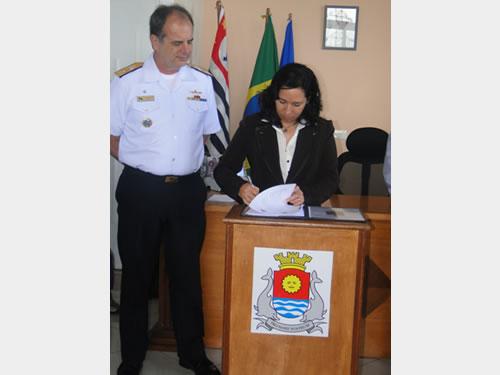 Comando do 8º Distrito Naval incrementa a segurança do Tráfego Aquaviário no Município de Guarujá (SP)