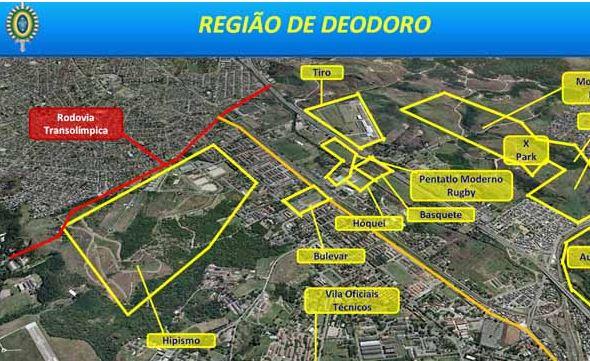 Destacamento Deodoro viabilizará obras do Complexo Esportivo