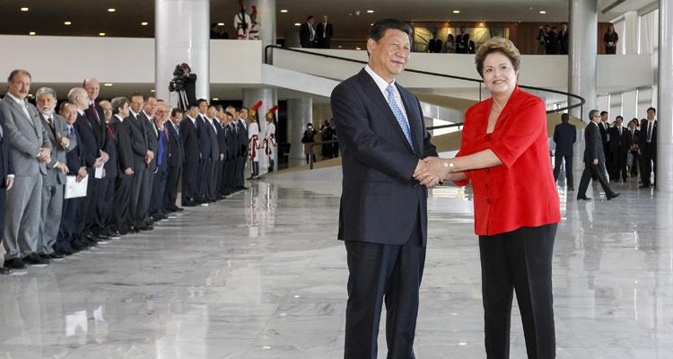 Firmado acordo entre Brasil e China no âmbito do Sistema de Proteção da Amazônia