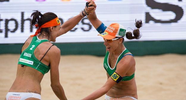 Sargento da FAB é ouro em torneio internacional de vôlei de praia