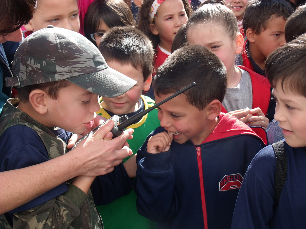 3º Grupo de Artilharia Antiaérea – Visita de Escolas