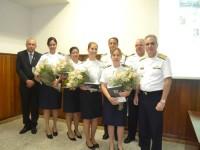 Militares homenageadas na cerimônia