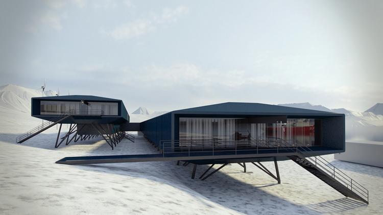 Marinha lança edital para reconstrução da Estação Antártica Comandante Ferraz
