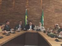 Cmt 10ª RM participa de reunião dos BRICS com Governador e Ministros