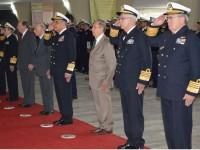 Homenagem aos mortos da Marinha de Guerra e da Marinha Mercante na 2ª Guerra Mundial
