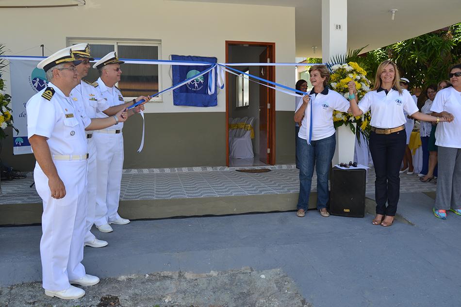 Voluntárias Cisne Branco inauguram sede em Manaus