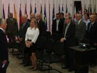Tenente-Brigadeiro Vilarinho, diretor do INCAER, na solenidade realizada no RJ
