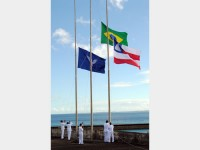 Cerimônia comemorativa à independência do Brasil na Bahia