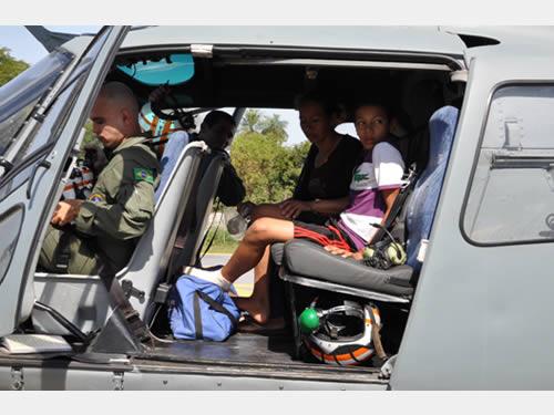 Comando do 6° Distrito Naval resgata criança com picada de cobra