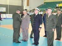 Solenidade abre oficialmente atividades do 33º Campeonato Mundial Militar de Voleibol