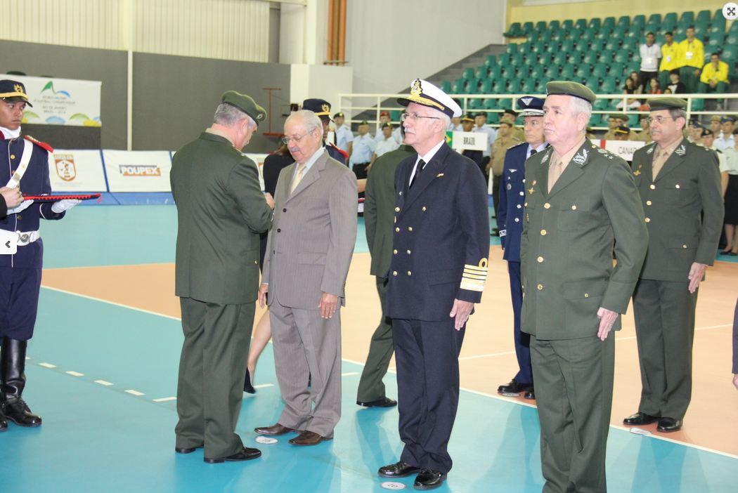 Solenidade abre oficialmente atividades do 33º Campeonato Mundial Militar de Voleibol Masculino