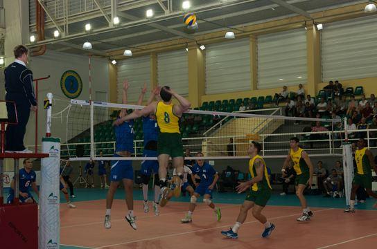 Equipe Brasileira das FFAA de Vôlei no Campeonato Mundial Militar Masculino de Voleibol