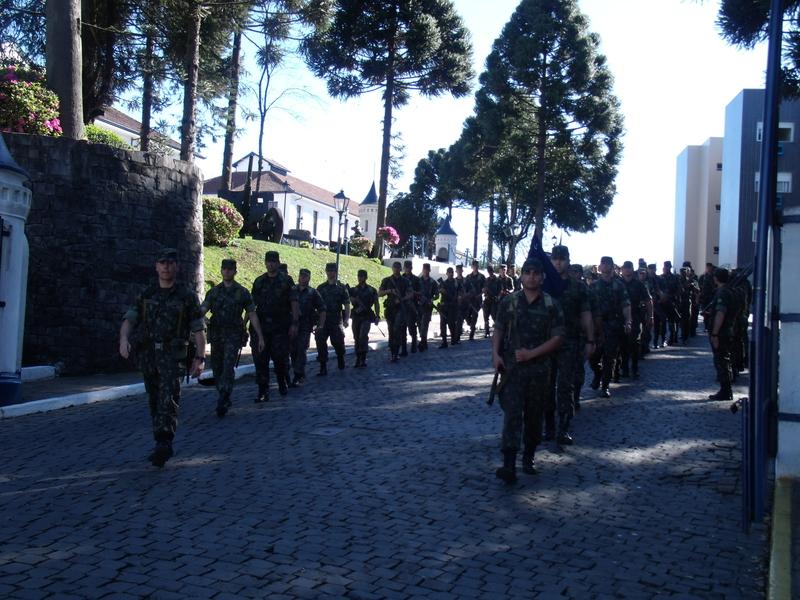 3 Grupo de Artilharia Antiaerea  Marcha de 16 Km 1