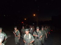 3 Grupo de Artilharia Antiaerea  Marcha de 16 Km 4