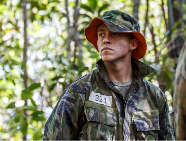 Cerca de 180 cadetes participam de estágio de sobrevivência na selva