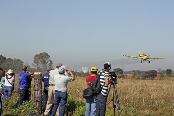 Aeronáutica participa do XXII Congresso Nacional de Aviação Agrícola