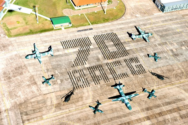 Base Aérea de Campo Grande convida para a comemoração dos seus 70 anos