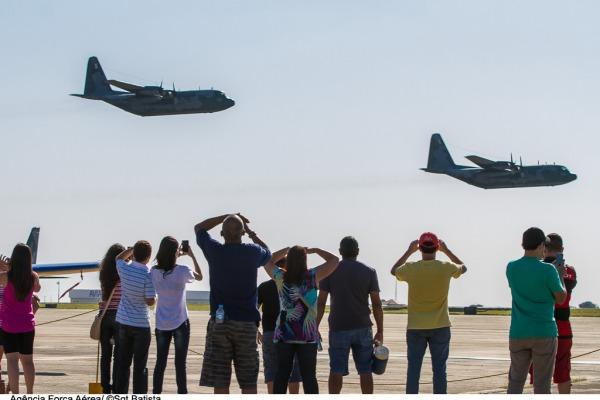 Base Aérea de Campo Grande recebe mais de 40 mil visitantes